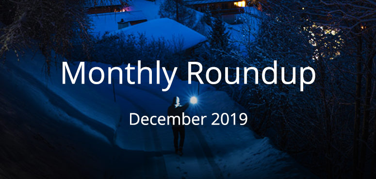 December 2019 Monthly Roundup